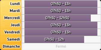 Horaires La Poste - Capesterre-de-Marie-Galante