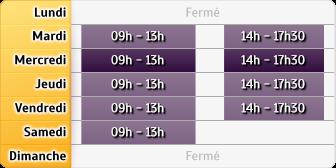 Horaires Société Générale - PARIS PERE LACHAISE