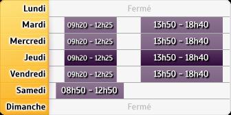 Horaires Société Générale - REIMS VESLE