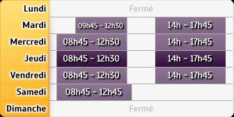 Horaires Société Générale - ST OUEN PLACE ARMES