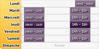 Horaires La Poste Saint Paul
