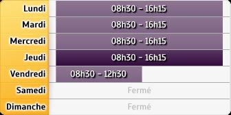 Horaires Pôle Emploi - Agence Nice Est