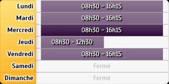 Horaires PÃ?le Emploi - Agence Evreux Rochette
