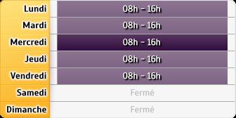 Horaires CAF - Nantes