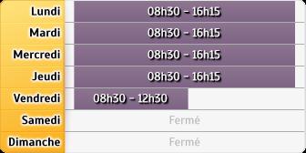 Horaires du Pôle Emploi - Agence Avignon Apollinaire, 10 Rue Jean Althen