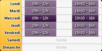 Horaires CAF - Bergerac