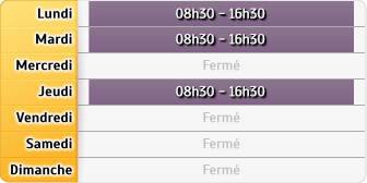Horaires CAF - Colomiers