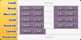 Horaires Société Générale - Clichy Leclerc