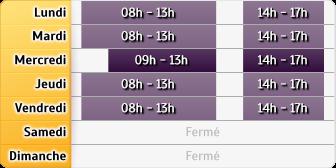 Horaires Société Générale - Lab�ge