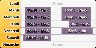 Horaires du Caisse D'Epargne Roanne Arsenal, 29 Boulevard De Reims