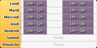 Horaires Aviva Assurance Roussillon