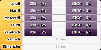 Horaires Banque de France - Evry
