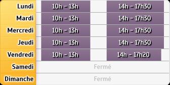 Horaires GMF Assurances - Maisons-Alfort