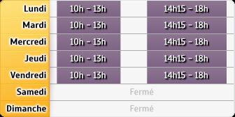 Horaires GMF Assurances - Rennes