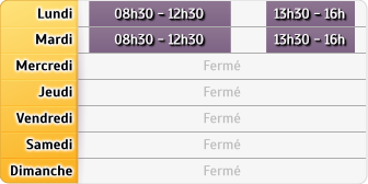 Horaires du CAF - Clermont-l'Hérault, 46, boulevard Gambetta