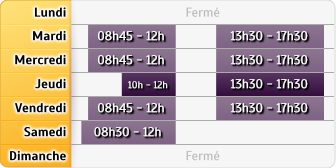 Horaires Crédit Mutuel - Horbourg-Wihr