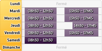 Horaires Credit Mutuel - Bron