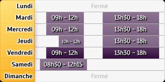 Horaires Crédit Mutuel - Fontaine-lès-Dijon