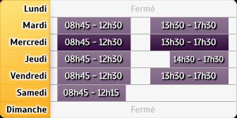 Horaires Credit Mutuel - Lyon 7e