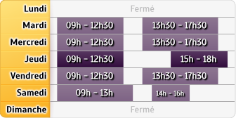 Horaires CIC Maisons Alfort