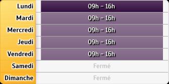 Horaires du CAF - Cergy-Pontoise, 2, place de la Pergola