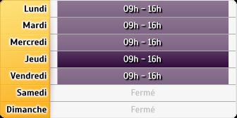 Horaires CAF - Cergy-Pontoise