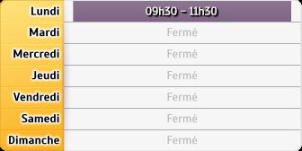 Horaires CAF - Nogent-sur-Seine