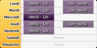Horaires CAF - Fécamp