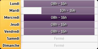 Horaires CAF - Bourg-en-Bresse