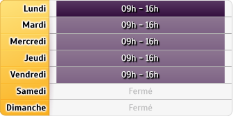 Horaires CAF - Auby