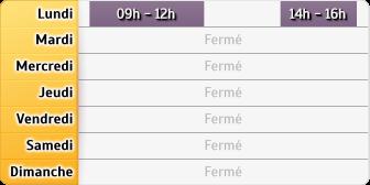 Horaires CAF - Henrichemont