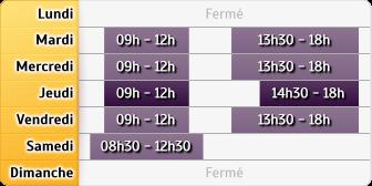 Horaires Caisse d'Epargne DIJON TRANSVAAL