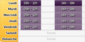 Horaires Mma Chaussin