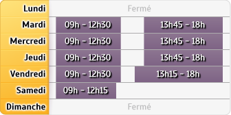 Horaires Mma Locmine