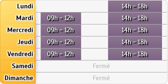 Horaires Agent General Romain Delahaye - Saint Quentin