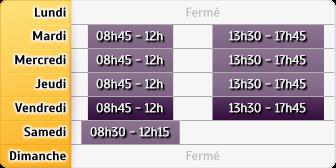 Horaires Caisse D'epargne - Venarey Les Laumes