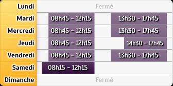 Horaires LCL - Aix-en-Provence