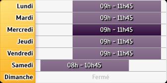 Horaires La Poste - Pompignan
