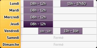 Horaires La Poste - Rombach le Franc