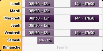 Horaires La Poste - Vienne En Val