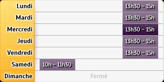 Horaires La Poste - Mereau