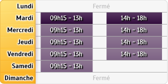 Horaires Caisse d'Epargne - Compiègne