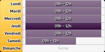 Horaires La Poste - Bruille-lez-Marchiennes