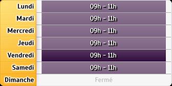 Horaires La Poste - Béthencourt-sur-Mer