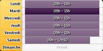 Horaires La Poste - Bagneux Bas Longchamps
