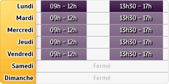 Horaires CAF - Chauny