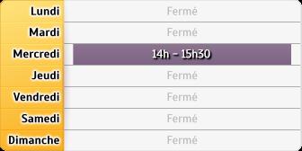 Horaires du CAF - Le Lude, 28, place Neuve