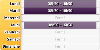 Horaires CAF - Toulouse