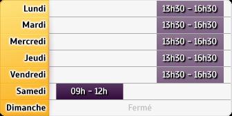Horaires La Poste - Beaulieu-sous-la-Roche