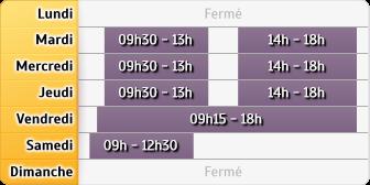 Horaires GMF Assurances - Toulouse Pradettes